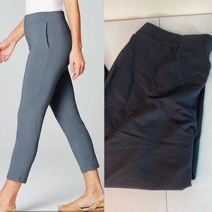 J. Jill Slim Leg Crop Black Pant